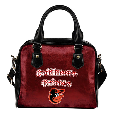 Love Icon Mix Baltimore Orioles Logo Meaningful Shoulder Handbags