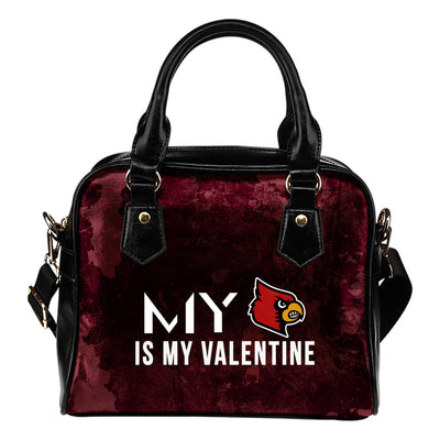 My Love Valentine Fashion Louisville Cardinals Shoulder Handbags