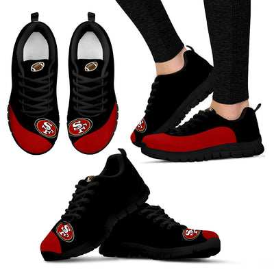 Valentine Love Red Colorful San Francisco 49ers Sneakers