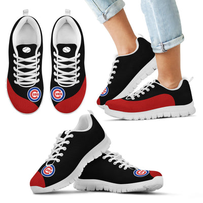 Valentine Love Red Colorful Chicago Cubs Sneakers