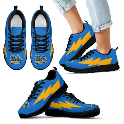 Lovely Style UCLA Bruins Sneakers Thunder Lightning Amazing Logo