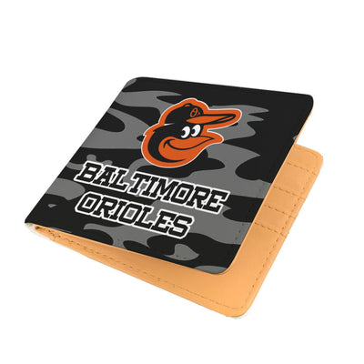 Camo Pattern Baltimore Orioles Mens Wallets