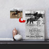 Great Horse Change Life Horse Riding Horse Canvas Print