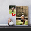 I Will Breathe - I Don't Quit Horse A Girl Riding A Horse Canvas Print