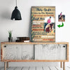 Live In The Moment Choose Happy Riding Horse Girl Canvas Print