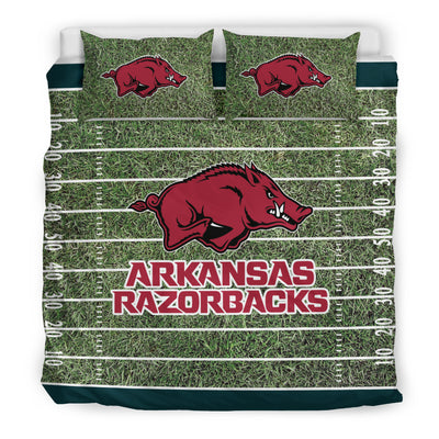 Sport Field Large Arkansas Razorbacks Bedding Sets