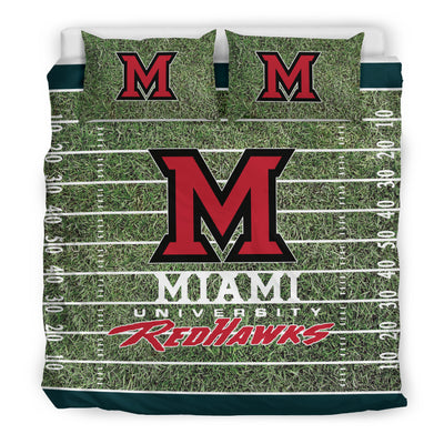 Sport Field Large Miami RedHawks Bedding Sets