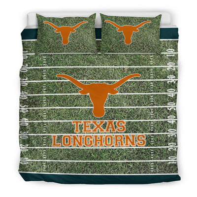 Sport Field Large Texas Longhorns Bedding Sets