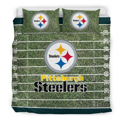Sport Field Large Pittsburgh Steelers Bedding Sets