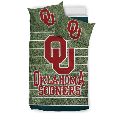 Sport Field Large Oklahoma Sooners Bedding Sets