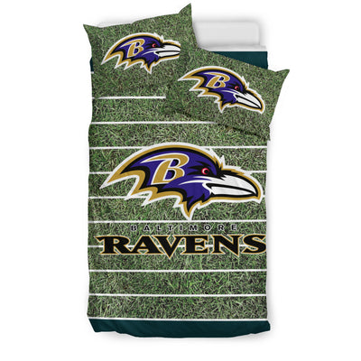 Sport Field Large Baltimore Ravens Bedding Sets