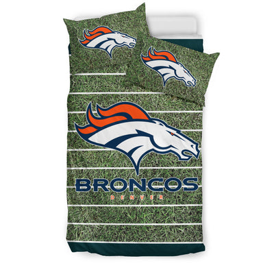Sport Field Large Denver Broncos Bedding Sets