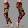 Pose Pattern Chihuahua Leggings