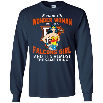 I'm Not Wonder Woman Bowling Green Falcons T Shirts