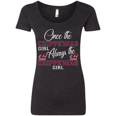 Always The Central Michigan Chippewas Girl T Shirts