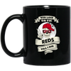 Skull Say Hi Cincinnati Reds Mugs