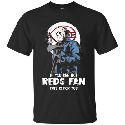 Jason With His Axe Cincinnati Reds T Shirts