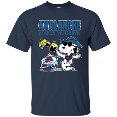 Colorado Avalanche Make Me Drinks T Shirt
