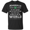 To Your Fan You Are The World Marshall Thundering Herd T Shirts