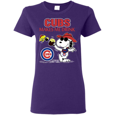 Chicago Cubs Makes Me Drinks T Shirt