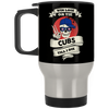 Skull Say Hi Chicago Cubs Mugs
