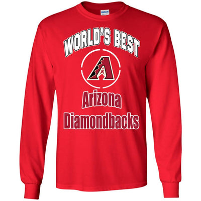 Amazing World's Best Dad Arizona Diamondbacks T Shirts