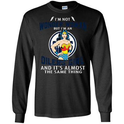 I'm Not Wonder Woman Edmonton Oilers T Shirts