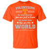 To Your Fan You Are The World Tennessee Volunteers T Shirts