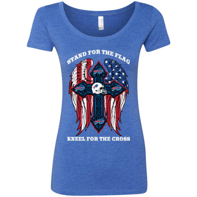 Stand For The Flag Kneel For The Cross Buffalo Bills T Shirts