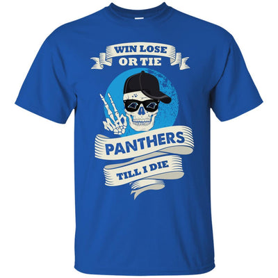 Skull Say Hi Carolina Panthers T Shirts
