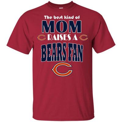 Best Kind Of Mom Raise A Fan Chicago Bears T Shirts