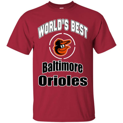 Amazing World's Best Dad Baltimore Orioles T Shirts