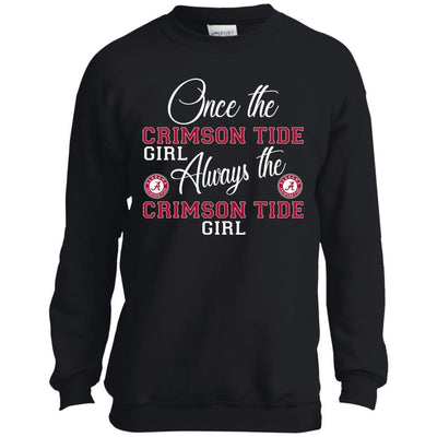 Always The Alabama Crimson Tide Girl T Shirts