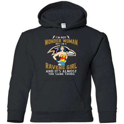 I'm Not Wonder Woman Baltimore Ravens T Shirts
