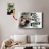 Husband Wife Custom Canvas Print - Love Makes All Things Easy