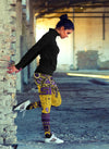 Boho LSU Tigers Leggings With Fantastic Art