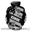 Proud Of American Stars Los Angeles Kings Hoodie
