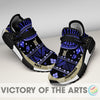 Amazing Pattern Human Race Navy Midshipmen Shoes For Fans