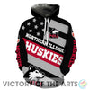Proud Of American Stars Northern Illinois Huskies Hoodie