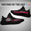 Art Scratch Mystery Ohio State Buckeyes Yeezy Shoes