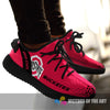 Line Logo Ohio State Buckeyes Sneakers As Special Shoes
