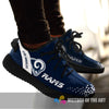 Line Logo Los Angeles Rams Sneakers As Special Shoes