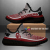 Colorful Line Words Oklahoma Sooners Yeezy Shoes