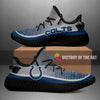 Colorful Line Words Indianapolis Colts Yeezy Shoes