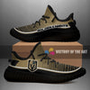 Colorful Line Words Vegas Golden Knights Yeezy Shoes