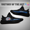 Art Scratch Mystery Toronto Blue Jays Yeezy Shoes