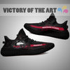Art Scratch Mystery Northern Illinois Huskies Yeezy Shoes