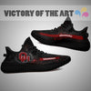 Art Scratch Mystery Oklahoma Sooners Yeezy Shoes