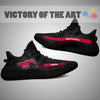 Art Scratch Mystery SMU Mustangs Yeezy Shoes