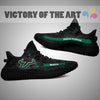 Art Scratch Mystery South Florida Bulls Yeezy Shoes